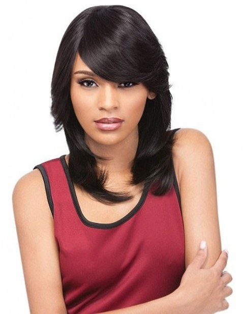 African American Remy Human Hair Wigs