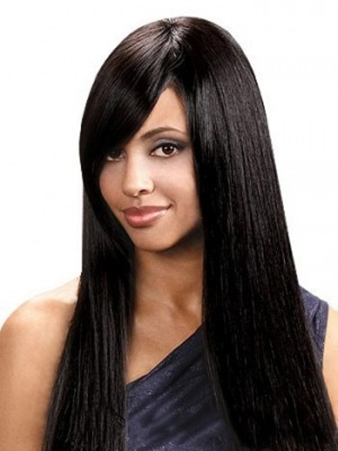 African American long Straight Wigs