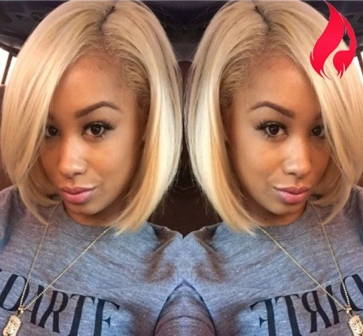 Blonde Full Lace Wig for Black Women