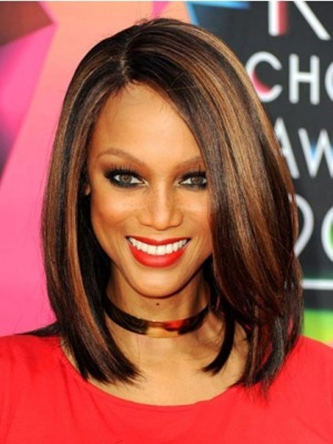 Bob Style Lace Wigs with color for Black Women