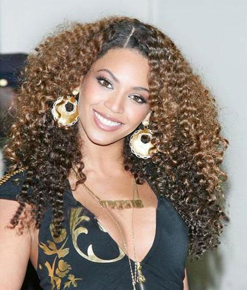 Celebrity inspired African american curly wigs