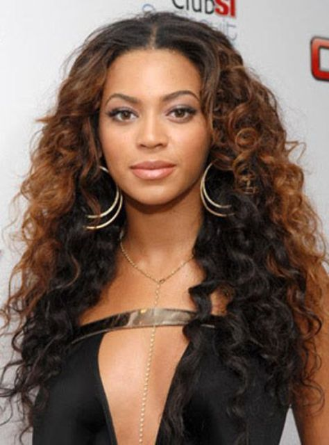 Curly Ombre Lace Wigs for Black Women