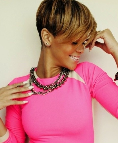 SHORT OMBRE BOB FOR AFRICAN AMERICAN WOMEN