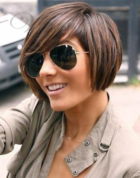 Short Bob Wigs with bangs for Black Women