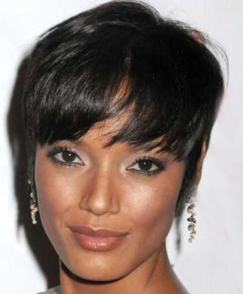 Short Full Lace Wig for Black Women