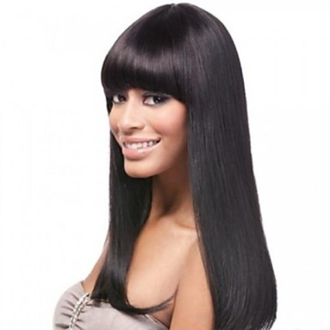Straight Glueless Lace Wigs for Black Women