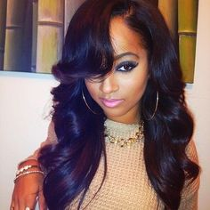 Trendy African American Remy Human Hair Wigs