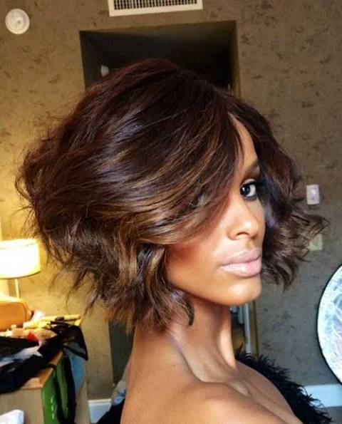 WAVY OMBRE BOB FOR AFRICAN AMERICAN WOMEN