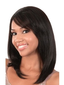 straight African American Remy Human Hair