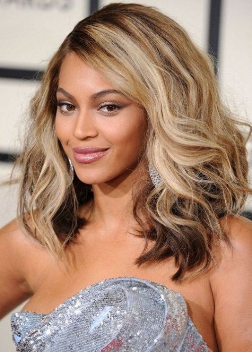 BEST MEDIUM BLONDE HAIRSTYLE BLACK WOMEN