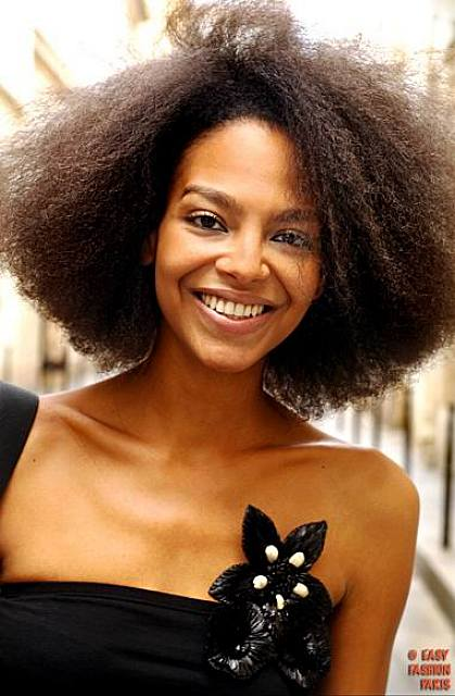 BEST MEDIUM NATURAL HAIRSTYLE FOR BLACK WOMEN