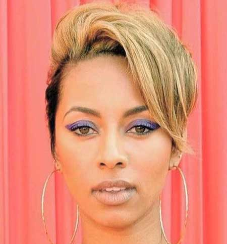 BEST SHORT BLONDE STRAIGHT HAIRCUT AFRICAN AMERICAN