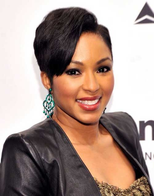 African American Short Black Hairstyles Haircuts For Women - Bob hairstyle black hair