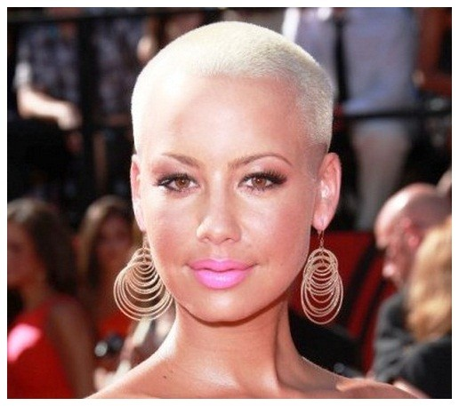 BEST SHORT BOLD WHITE BLONDE HAIRCUT AFRICAN AMERICAN