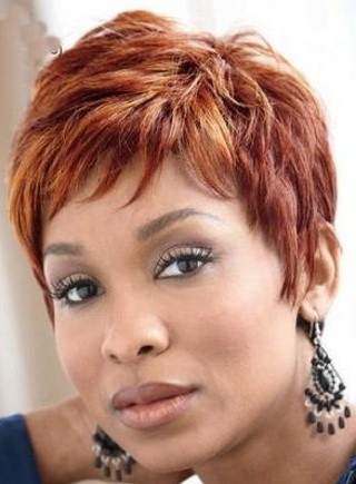 BEST SHORT CURLY HAIRSTYLE WITH COLOR BLACK WOMEN