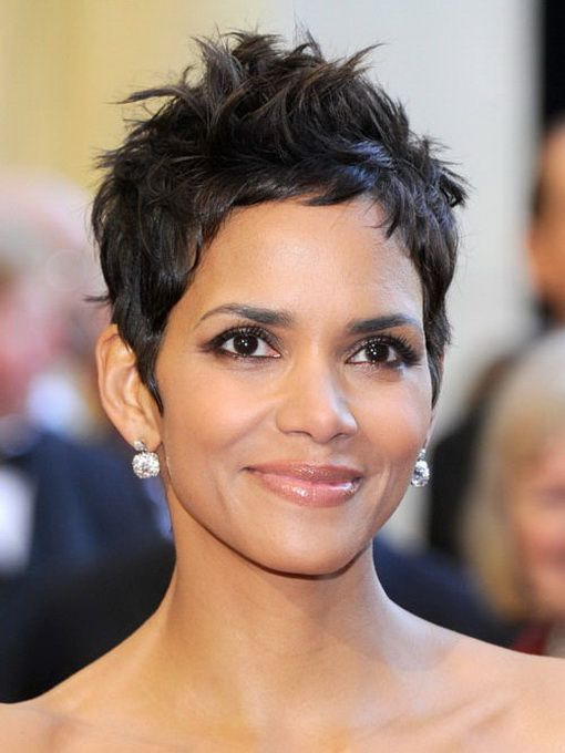 BEST SHORT HAIR CUT WITH MESSY CROWN AFRICAN AMERICAN