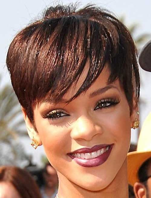 BEST SHORT HAIR CUTS FOR LONG FACES COLORED AFRICAN AMERICAN