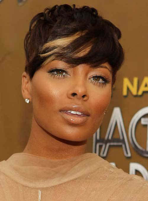 BEST SHORT HAIRCUT FOR LONG FACES AFRICAN AMERICAN