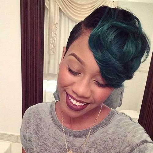 Astounding 50 Best Short Haircuts For African American Women 2017 Cruckers Hairstyle Inspiration Daily Dogsangcom