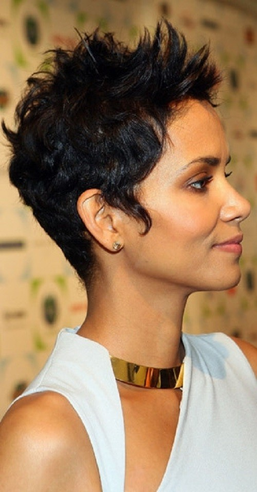 Astonishing 50 Best Short Haircuts For African American Women 2017 Cruckers Hairstyle Inspiration Daily Dogsangcom
