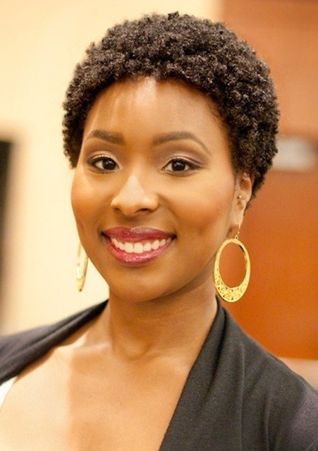 BEST SHORT HAIRSTYLE WITH TIGHT CURLS BLACK WOMEN