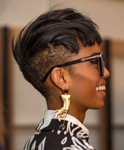 BEST SHORT MOHAWK HAIRCUT AFRICAN AMERICAN