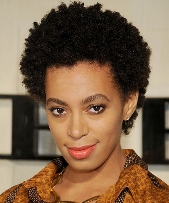 BEST SHORT NATURAL CURLY HAIRSTYLE FOR BLACK WOMEN IN 30'S