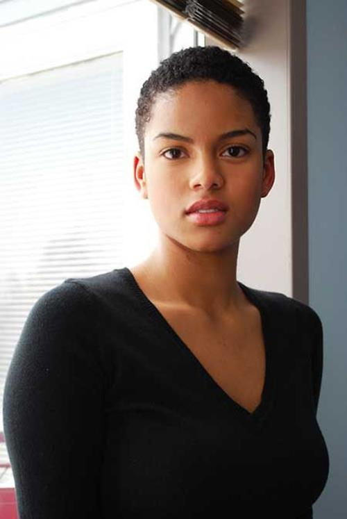 Admirable 50 Best Short Haircuts For African American Women 2017 Cruckers Hairstyles For Men Maxibearus
