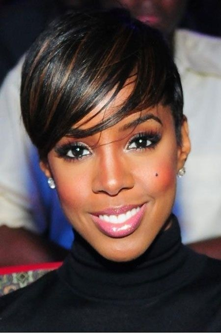 BEST SHORT  TWO WAY COLOR PIXIE HAIRCUT AFRICAN AMERICAN