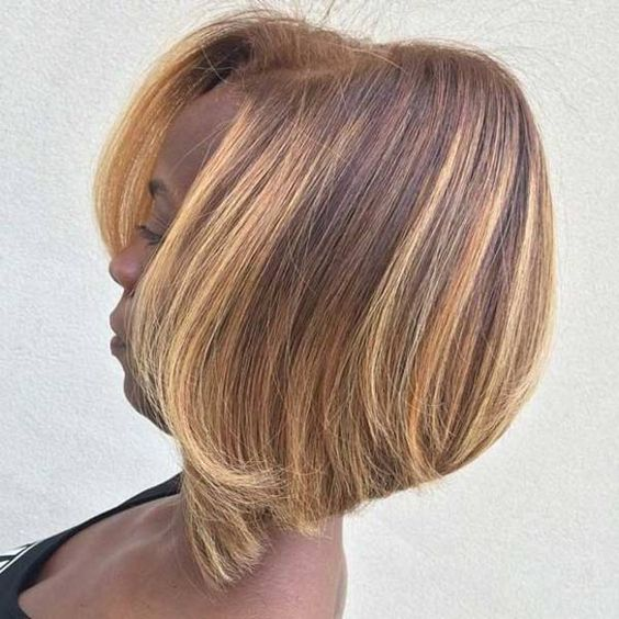 Ombre Bob Haircut For Black Women