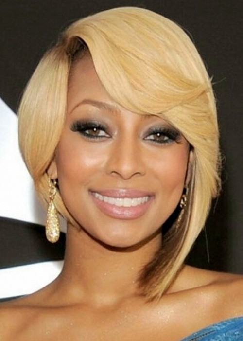 5 Most Inspiring Short Straight White Blonde Haircut African American Women on sharp edge