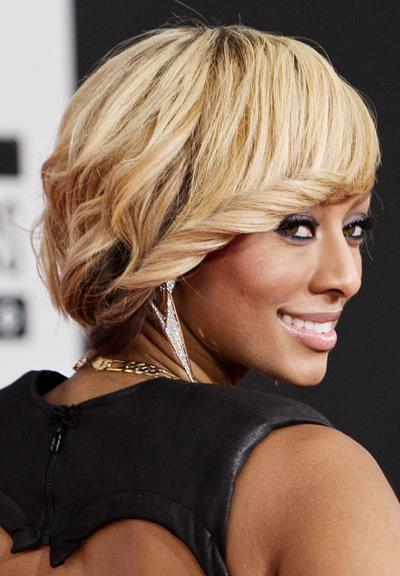 5 Short Haircut Wavy White Blonde African American can't do without
