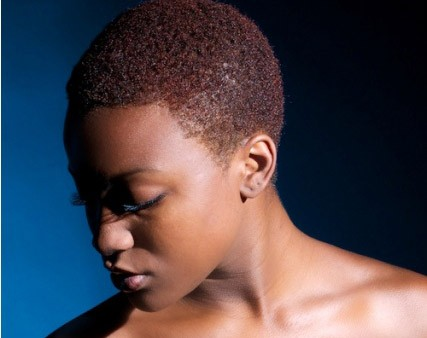 5 Short Sophisticated Haircuts with curls Natural Purple hairstyle Black women
