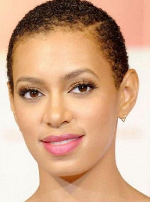 5 Short Sophisticated Haircuts with curls Natural  with line on side Hairstyle African American