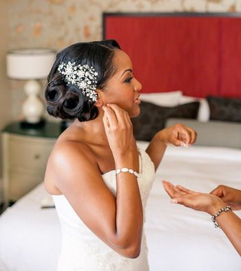 Best Short Wedding Hairstyle for Black Women