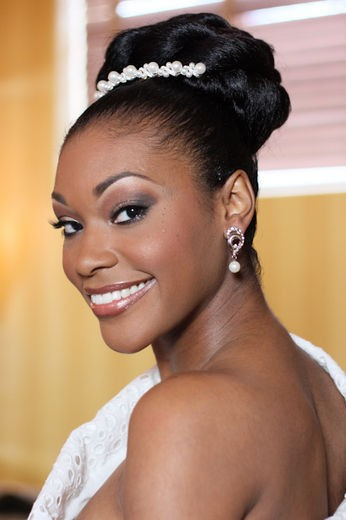 Best Wedding Relaxed Hairstyle for Black Women