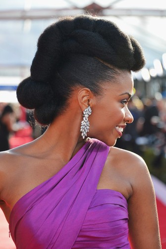 Best natural Wedding Hairstyle for Black Women