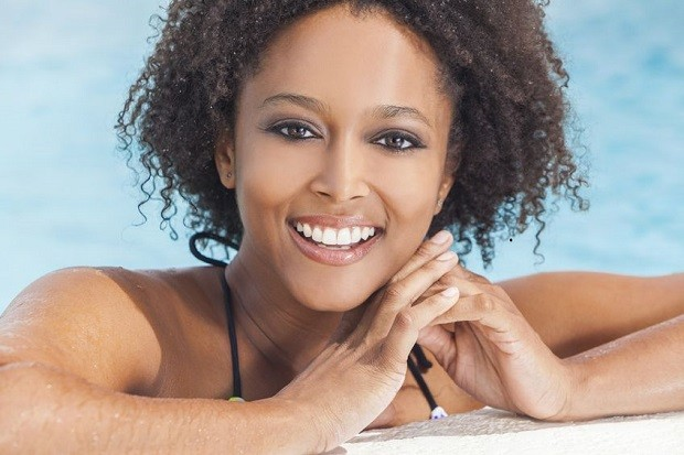 Captivating Short Natural Curly Fine Hairstyle For Black Women