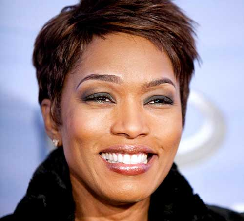 Peachy 5 Beautiful Short Haircuts For Round Faces African American Cruckers Short Hairstyles For Black Women Fulllsitofus