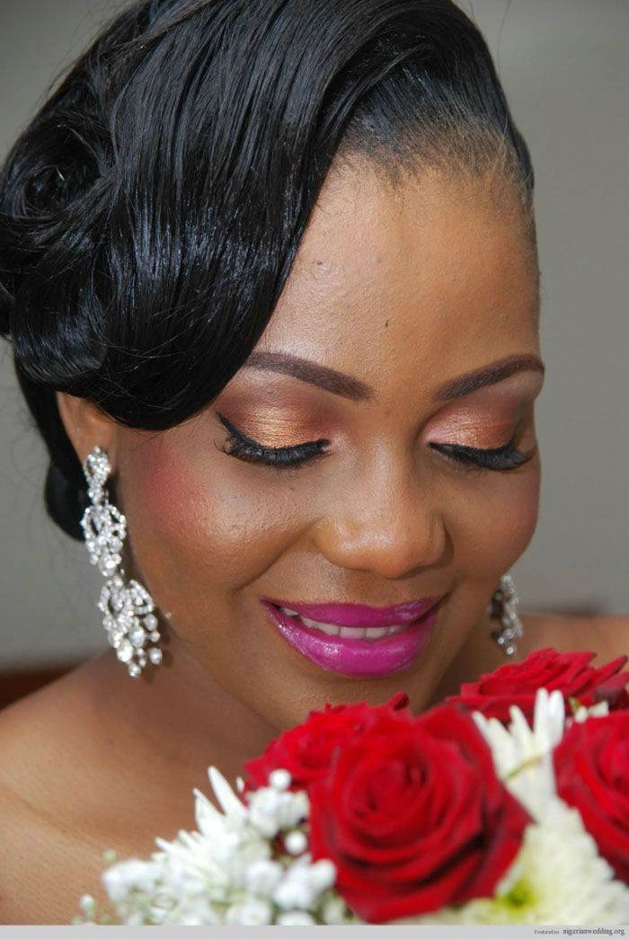 Best Wedding Bob Straight Hairstyle for Black Women