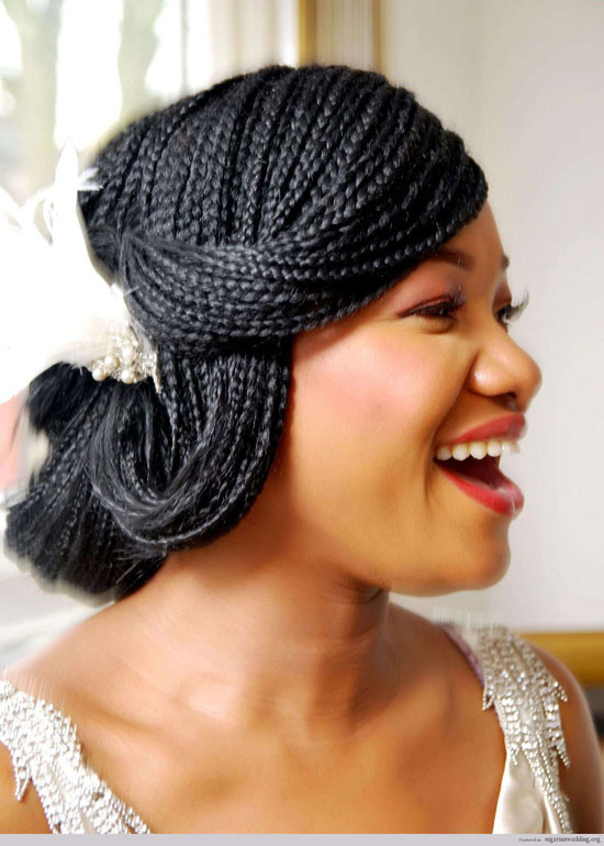 Best Wedding Box braids for Black Women