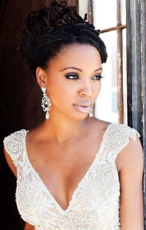 Best Wedding Dread Hairstyle  for Black Women