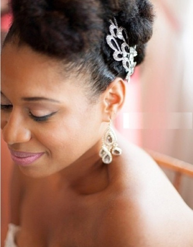Best Wedding Hairstyle for Black Women Above 30's