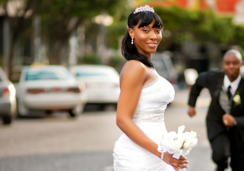 Best Wedding Hairstyle on Bangs for Black Women
