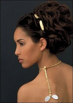 Best Wedding Hairstyle on loose up do for Black Women