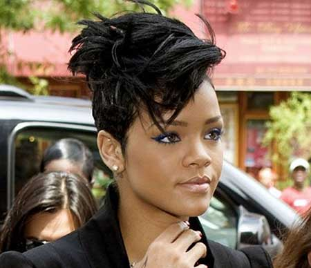 Captivating Short Messy Thick Haircut African American