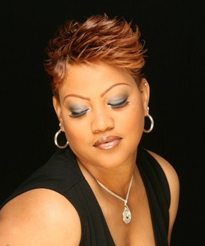 Short Hairstyles For Fat Faces African American