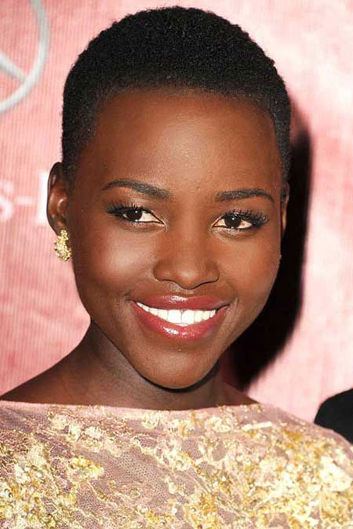 Enticing Short Normal Celebrity Haircut African American