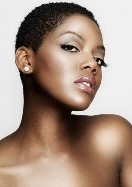 Enticing Short Normal Haircut Round face African American
