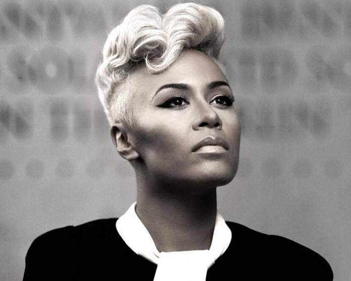 Inspiring short haircuts with messy crown white blonde African American